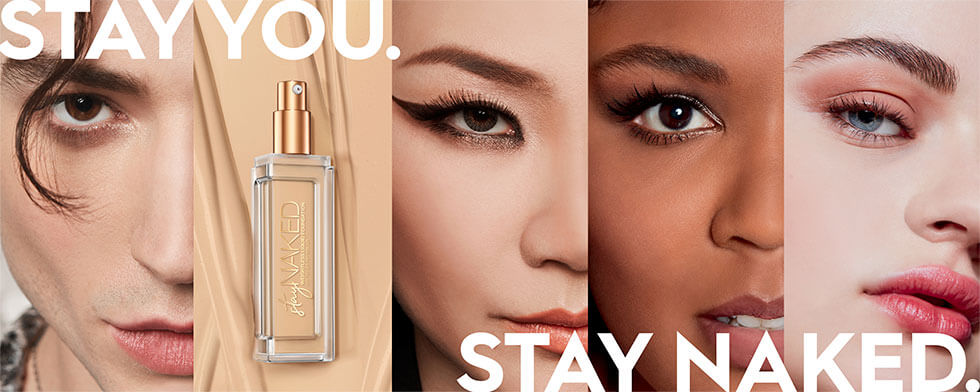Stay you. Stay naked.